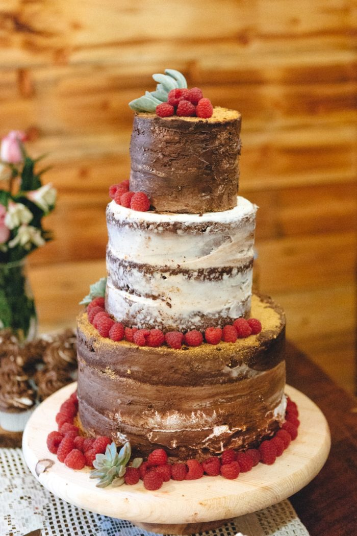 Wedding Cake Folk Wedding Inspiration In Asheville Krista Lajara Photography | Via MountainsideBride.com