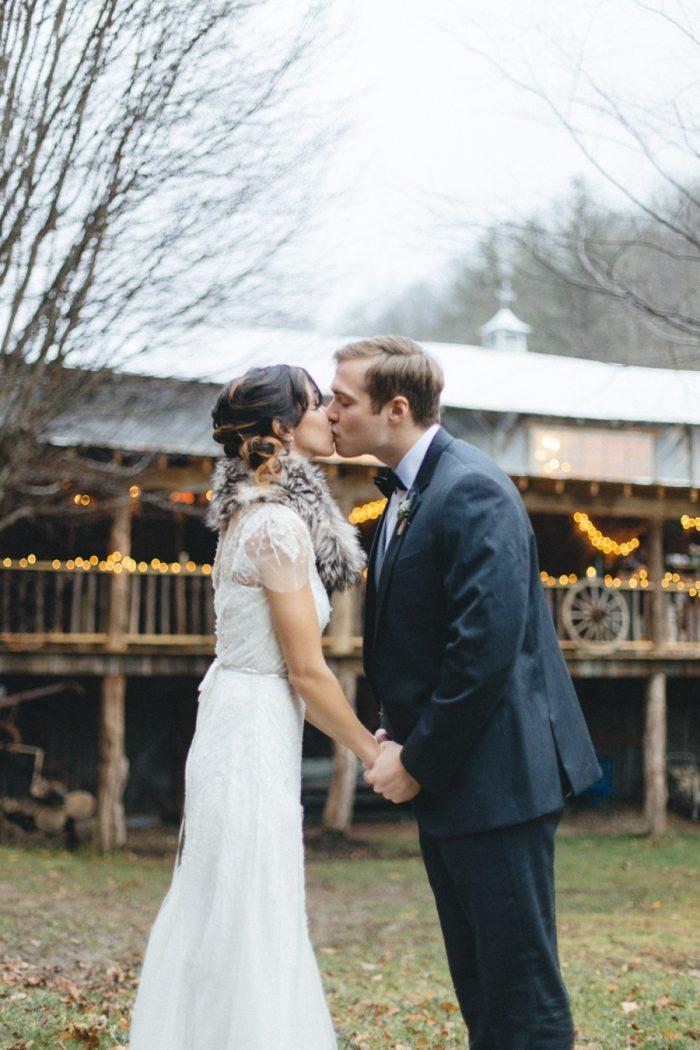 Bride Groom Folk Wedding Inspiration In Asheville Krista Lajara Photography | Via MountainsideBride.com