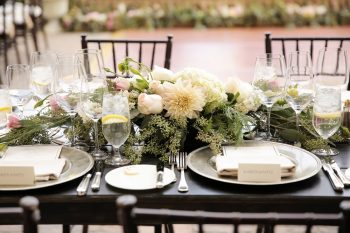 Tablescape | Elegant Park City Wedding St Regis Logan Walker Photography | Via MountainsideBride.com