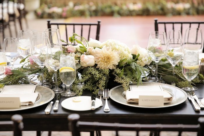 Tablescape | Elegant Park City Wedding St Regis Logan Walker Photography | Via MountainsideBride.com