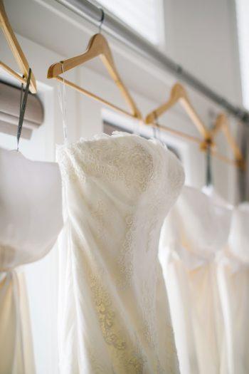 Wedding Dress Canmore Mountain Wedding At Silvertip Resort Corrina Walker Photography   Via MountainsideBride.com
