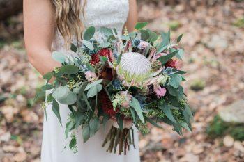 Bouquet | Smoky Mountain Elopement Madeline Harper Photo | Via MountainsideBride
