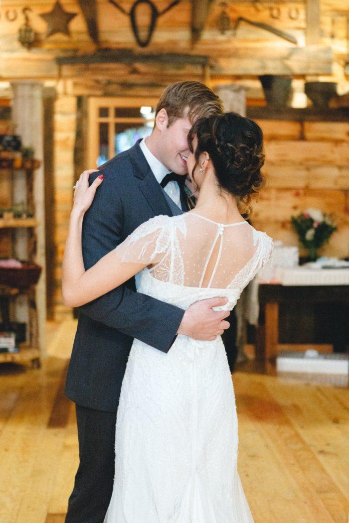 First Dance Folk Wedding Inspiration In Asheville Krista Lajara Photography | Via MountainsideBride.com
