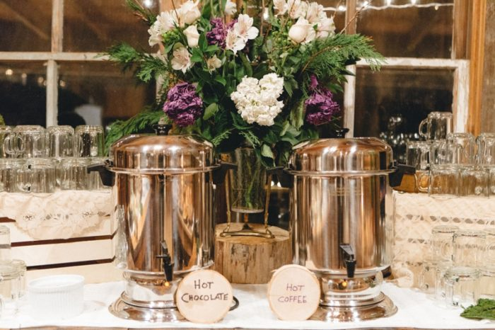 Coffee Bar Folk Wedding Inspiration In Asheville Krista Lajara Photography | Via MountainsideBride.com