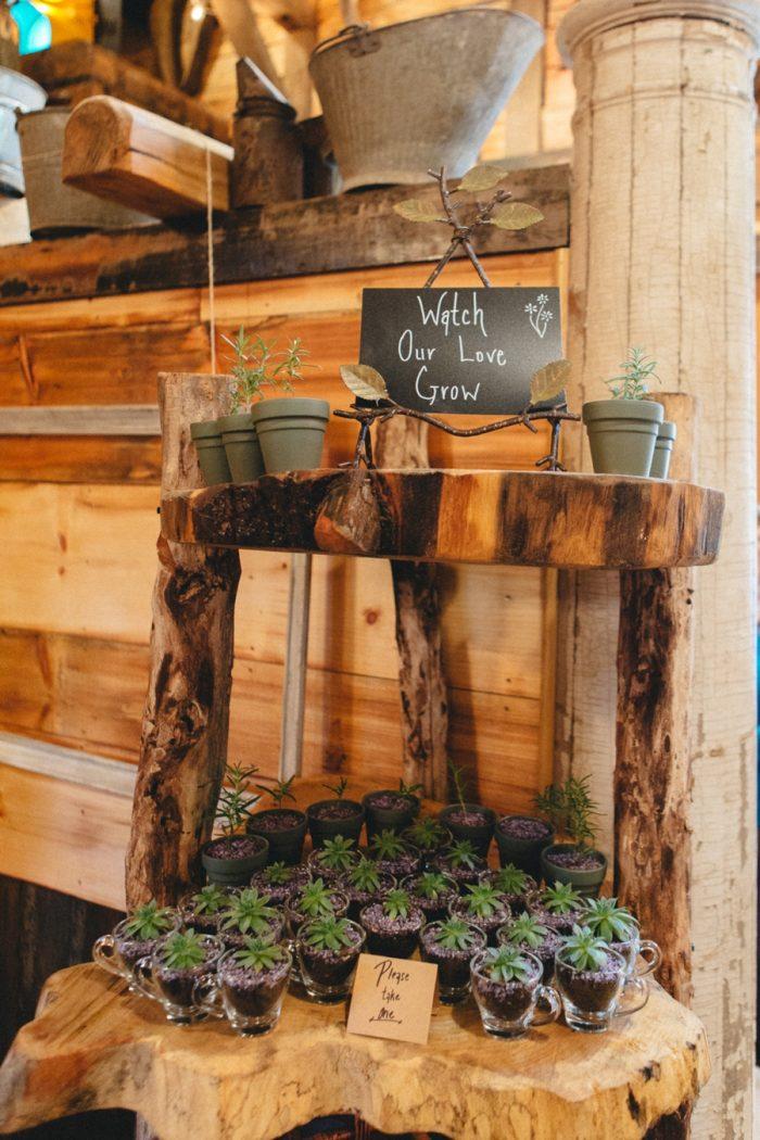 Favors Folk Wedding Inspiration In Asheville Krista Lajara Photography | Via MountainsideBride.com