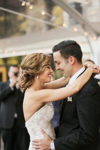 Dancing   Elegant Park City Wedding St Regis Logan Walker Photography   Via MountainsideBride.com