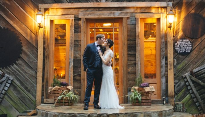 Indie Folk Mountain Wedding in Asheville's Great Smoky Mountains