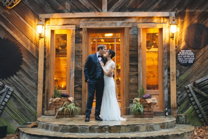 Bride Groom Folk Wedding Inspiration In Asheville Krista Lajara Photography | Via MountainsideBride.com