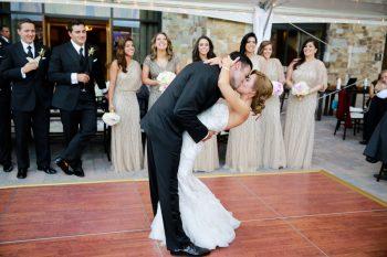 Dancing | Elegant Park City Wedding St Regis Logan Walker Photography | Via MountainsideBride.com