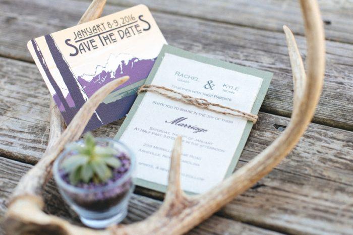 Stationary Folk Wedding Inspiration In Asheville Krista Lajara Photography | Via MountainsideBride.com