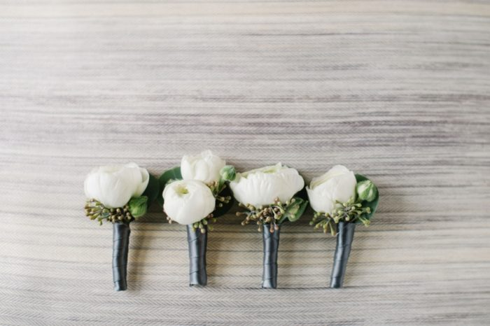 Boutonnieres Canmore Mountain Wedding At Silvertip Resort Corrina Walker Photography | Via MountainsideBride.com