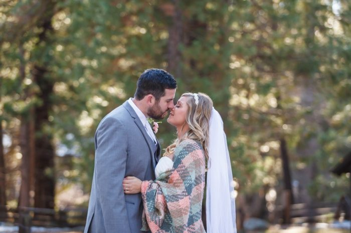 Winter Yosemite National Park Wedding Bergreen Photography | Via Mountainsidebride.com