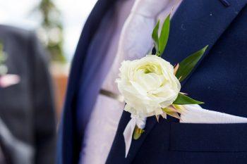 12 Boutonniere | Keystone Colorado Wedding Mathew Irving Photography | Via MountainsideBride.com