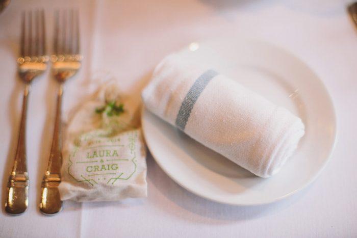 Seeding Wedding Favors | Maroon Bells Colorado Elopement | EC Campbell Photography | Via Mountainsidebride.com