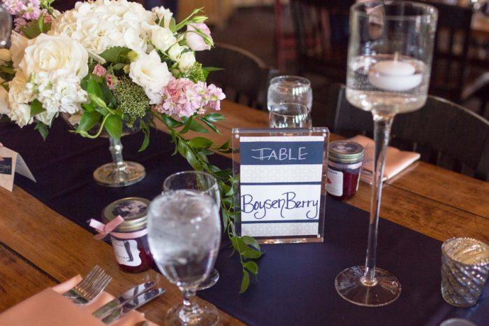 20 Table Name | Keystone Colorado Wedding Mathew Irving Photography | Via MountainsideBride.com