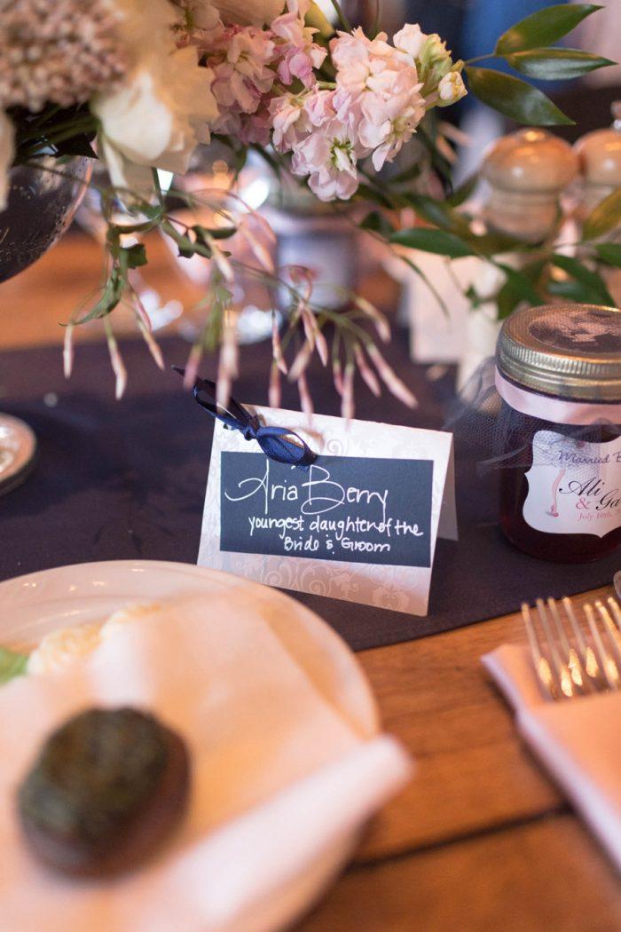 27 Name Tag | Keystone Colorado Wedding Mathew Irving Photography | Via MountainsideBride.com