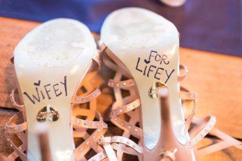 29 Wedding=shoes | Keystone Colorado Wedding Mathew Irving Photography | Via MountainsideBride.com