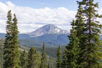 3 Mountains | Keystone Colorado Wedding Mathew Irving Photography | Via MountainsideBride.com