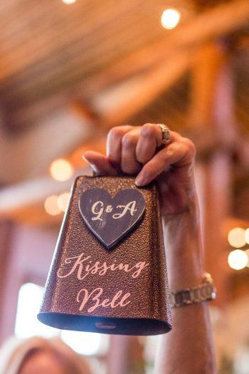 31 Kissing Bell | Keystone Colorado Wedding Mathew Irving Photography | Via MountainsideBride.com