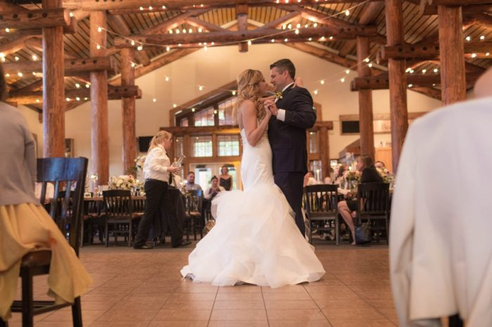 32 First Dance | Keystone Colorado Wedding Mathew Irving Photography | Via MountainsideBride.com