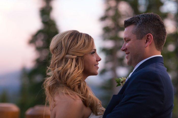 33 Kiss | Keystone Colorado Wedding Mathew Irving Photography | Via MountainsideBride.com