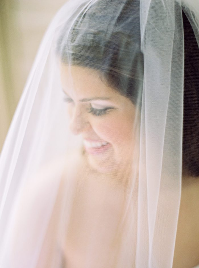 Bride Veil Butterfly Gap Wedding Maryville Tennessee JoPhoto | Via MountainsideBride.com