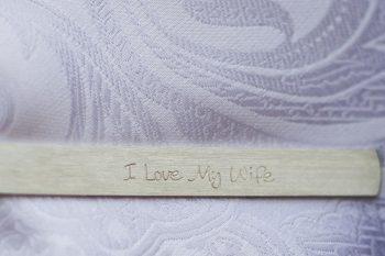 7 I Love My Wife Sign | Keystone Colorado Wedding Mathew Irving Photography | Via MountainsideBride.com