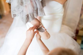 8 Flower Girl Shoes | Keystone Colorado Wedding Mathew Irving Photography | Via MountainsideBride.com