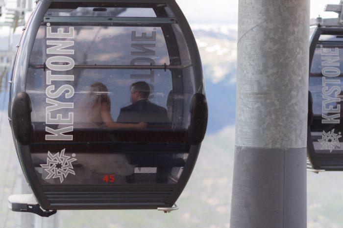 9 Keystone Gondola | Keystone Colorado Wedding Mathew Irving Photography | Via MountainsideBride.com