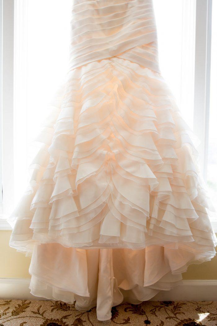 1 Asheville Event Co Wedding Gown | Via MountainsideBride.com