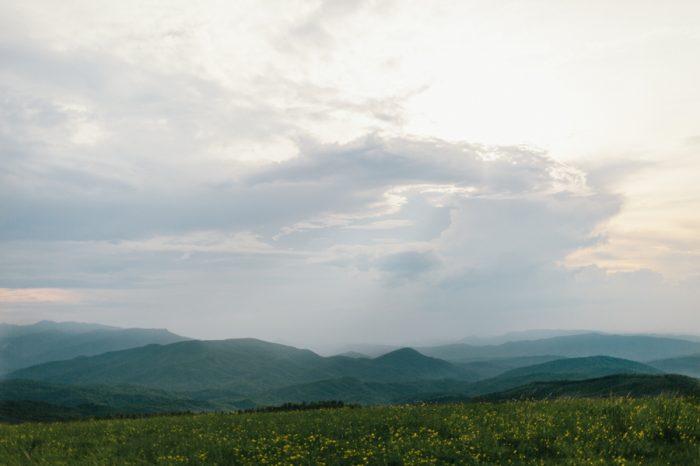 Max Patch Engagement Erin Morrison Photography | Via MountainsideBride.com