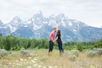 11 Grand Teton National Park Wyoming Engagement   Heather Erson Photography   Via MountainsideBride.com