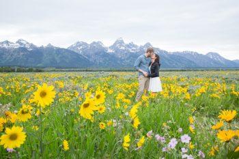 15 Grand Teton National Park Wyoming Engagement   Heather Erson Photography   Via MountainsideBride.com