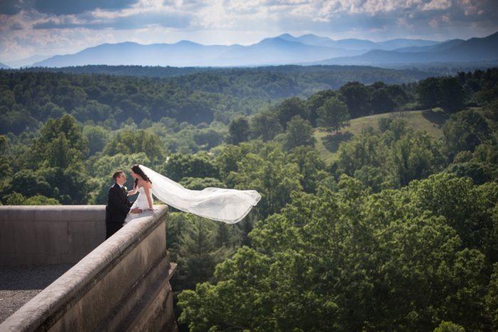 17 Asheville Event Co Blue Ridge Mountains | Via MountainsideBride.com
