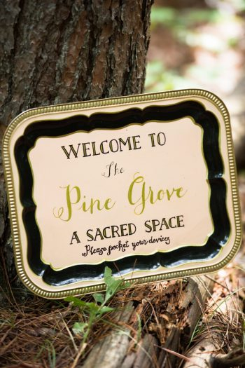 17a Catskill Wedding DIY Woodland Speakeasy | Kerri Lynne Photography | Via MountainsideBride