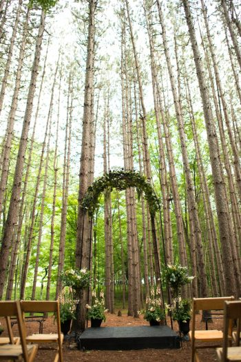 18 Catskill Wedding DIY Woodland Speakeasy | Kerri Lynne Photography | Via MountainsideBride