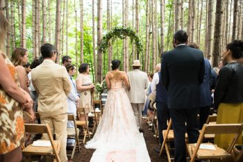 20 Catskill Wedding DIY Woodland Speakeasy | Kerri Lynne Photography | Via MountainsideBride
