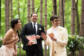 22 Catskill Wedding DIY Woodland Speakeasy | Kerri Lynne Photography | Via MountainsideBride