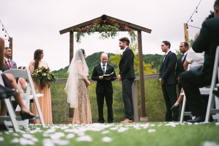 Blue Ridge Mountain Wedding Sugarboo Farms | By Leah And Mark | Via MountainsideBride.com