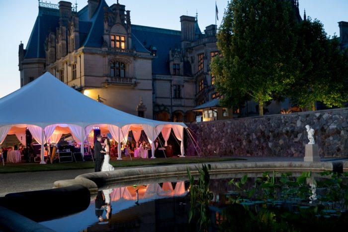 25 Asheville Event Co Bride And Groom Wedding Tent | Via MountainsideBride.com