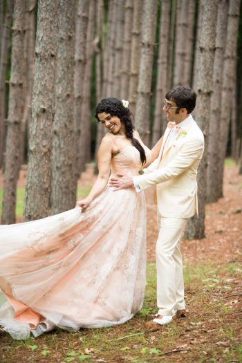 26 Catskill Wedding DIY Woodland Speakeasy | Kerri Lynne Photography | Via MountainsideBride