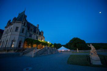 27 Asheville Event Co Wedding Reception At Night | Via MountainsideBride.com