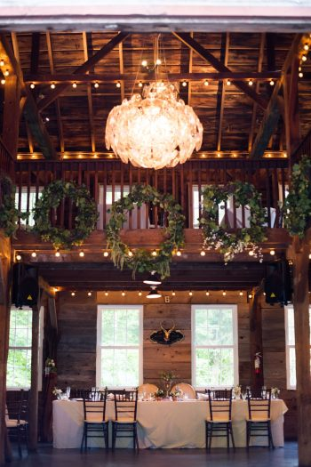 27 Catskill Wedding DIY Woodland Speakeasy | Kerri Lynne Photography | Via MountainsideBride