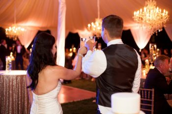 28 Asheville Event Co Wedding Toast | Via MountainsideBride.com