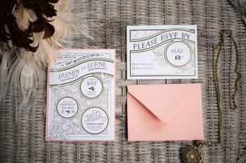 3 Catskill Wedding DIY Woodland Speakeasy | Kerri Lynne Photography | Via MountainsideBride