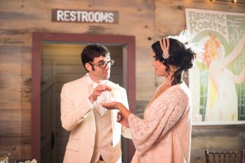 37 Catskill Wedding DIY Woodland Speakeasy | Kerri Lynne Photography | Via MountainsideBride
