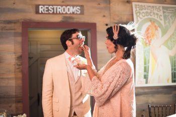 38 Catskill Wedding DIY Woodland Speakeasy | Kerri Lynne Photography | Via MountainsideBride