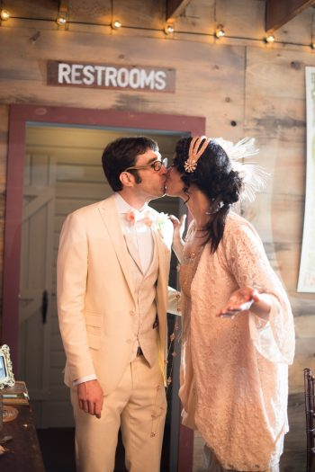 39 Catskill Wedding DIY Woodland Speakeasy | Kerri Lynne Photography | Via MountainsideBride