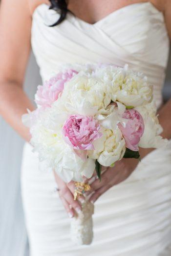 4 Asheville Event Co Peony Wedding Bouquet | Via MountainsideBride.com