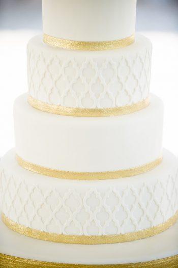 8 Asheville Event Co Wedding Cake Closeup | Via MountainsideBride.com